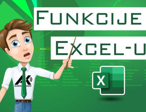 Funkcije u Excel-u