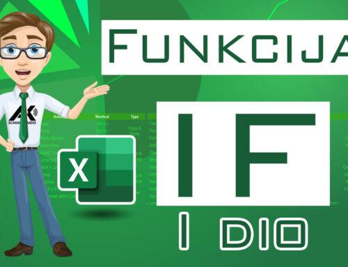Funkcija IF (osnovni rad)