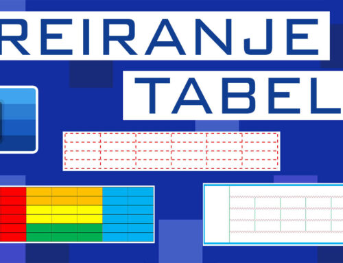 Kreiranje tabela