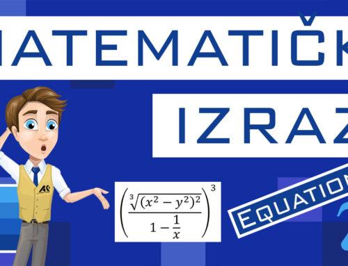 Matematički izrazi (Equation)